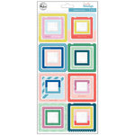 Pinkfresh Studio - Everyday Musings Collection - Chipboard Stickers - Frames