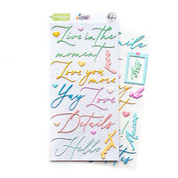 Pinkfresh Studio - My Favorite Story Collection - Puffy Stickers - Phrase