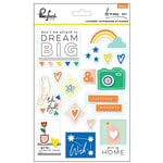 Pinkfresh Studio - Dream On Collection - Layered Chipboard Stickers