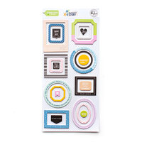 Pinkfresh Studio - My Favorite Story Collection - Stickers - Chipboard Frames