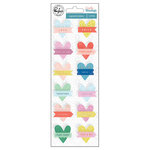 Pinkfresh Studio - Everyday Musings Collection - Layered Cardstock Stickers