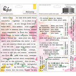 Pinkfresh Studio - Felicity Collection - Cardstock Stickers - Words and Phrases