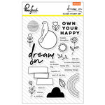 Pinkfresh Studio - Dream On Collection - Clear Acrylic Stamps