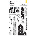 Pinkfresh Studio - Felicity Collection - Clear Acrylic Stamp Set