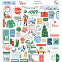 Pinkfresh Studio - Oh What Fun! Collection - Ephemera Pack