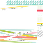 Pinkfresh Studio - Life Noted Collection - 12 x 12 Double Sided Paper - Pick Up Sticks