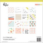 Pinkfresh Studio - Live More Collection - 12 x 12 Paper Pack