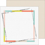 Pinkfresh Studio - Live More Collection - 12 x 12 Double Sided Paper - Freedom