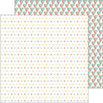 Pinkfresh Studio - Live More Collection - 12 x 12 Double Sided Paper - Journey