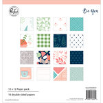 Pinkfresh Studio - Be You Collection - 12 x 12 Paper Pack