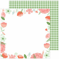 Pinkfresh Studio - Be You Collection - 12 x 12 Double Sided Paper - Real