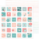 Pinkfresh Studio - Be You Collection - 12 x 12 Double Sided Paper - Kind
