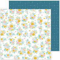 Pinkfresh Studio - Joyful Day Collection - 12 x 12 Double Sided Paper - Just Right