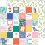 Pinkfresh Studio - Joyful Day Collection - 12 x 12 Double Sided Paper - Simple Pleasures