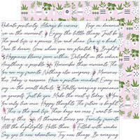 Pinkfresh Studio - Noteworthy Collection - 12 x 12 Double Sided Paper - Snippets