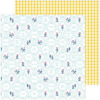 Pinkfresh Studio - Noteworthy Collection - 12 x 12 Double Sided Paper - Happy Thoughts