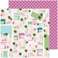 Pinkfresh Studio - Noteworthy Collection - 12 x 12 Double Sided Paper - All The Goodness