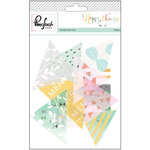Pinkfresh Studio - Happy Things Collection - Acetate Die Cut Pieces - Triangles