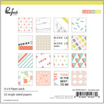 Pinkfresh Studio - Live More Collection - 6 x 6 Paper Pack