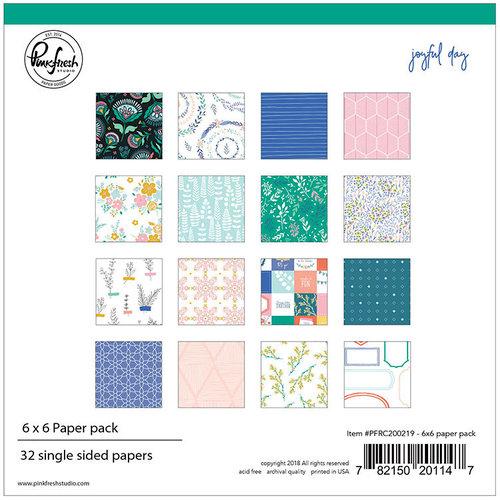 Pinkfresh Studio - Joyful Day Collection - 6 x 6 Paper Pack