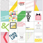 Pinkfresh Studio - Life Noted Collection - 3 x 4 Cards Set