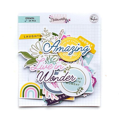 Pinkfresh Studio - Noteworthy Collection - Ephemera Pack