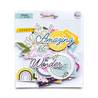 Pinkfresh Studio - Noteworthy Collection - Ephemera Pack