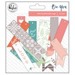 Pinkfresh Studio - Be You Collection - Mini Leatherette Flags