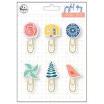 Pinkfresh Studio - Joyful Day Collection - Paper Clips