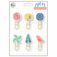 Pinkfresh Studio - Joyful Day Collection - Paper Clips