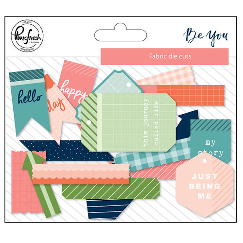 Pinkfresh Studio - Be You Collection - Fabric Die Cuts