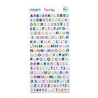 Pinkfresh Studio - Noteworthy Collection - Stickers - Mini - Alpha