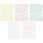 Pinkfresh Studio - Happy Things Collection - Mini Alphabet Stickers Pack