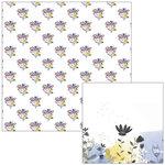Pinkfresh Studio - Indigo Hills Collection - 12 x 12 Double Sided Paper - Moorland