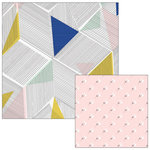 Pinkfresh Studio - Indigo Hills Collection - 12 x 12 Double Sided Paper - Palisades