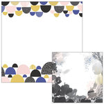 Pinkfresh Studio - Indigo Hills Collection - 12 x 12 Double Sided Paper - Knoll