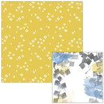 Pinkfresh Studio - Indigo Hills Collection - 12 x 12 Double Sided Paper - Pinnacle