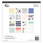Pinkfresh Studio - Escape the Ordinary Collection - 12 x 12 Paper Pack