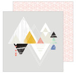 Pinkfresh Studio - Escape the Ordinary Collection - 12 x 12 Double Sided Paper - Explore