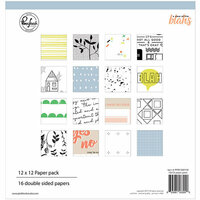 Pinkfresh Studio - A Case of the Blahs Collection - 12 x 12 Paper Pack