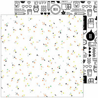 Pinkfresh Studio - A Case of the Blahs Collection - 12 x 12 Double Sided Paper - Meh
