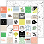 Pinkfresh Studio - A Case of the Blahs Collection - 12 x 12 Double Sided Paper - Messy