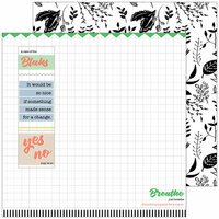 Pinkfresh Studio - A Case of the Blahs Collection - 12 x 12 Double Sided Paper - Chaos