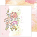 Pinkfresh Studio - Celebrate Collection - 12 x 12 Double Sided Paper - This Story