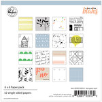 Pinkfresh Studio - A Case of the Blahs Collection - 6 x 6 Paper Pack