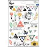 Pinkfresh Studio - Escape the Ordinary Collection - Puffy Stickers