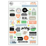 Pinkfresh Studio - A Case of the Blahs Collection - Puffy Stickers