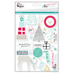 Pinkfresh Studio - Christmas Wishes Collection - Studio Puffs - Puffy Stickers