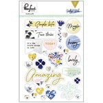 Pinkfresh Studio - Indigo Hills Collection - Puffy Stickers
