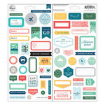 Pinkfresh Studio - Out and About Collection - Cardstock Stickers